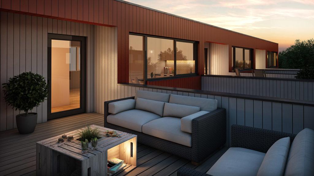 3d visualiserig for Selvaag, av deres prosjekt på Jaasund i Tananger