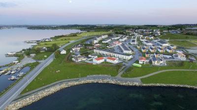 Luftfoto av Jaasund på Tananger