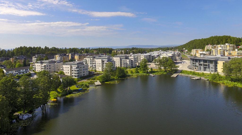 Luftfoto Koltbotnvannet